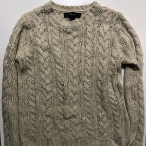 💎 2/$20 FOREVER 21 Tan Knitted Sweater, Small